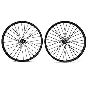 FidgetGear - Ruedas para Bicicleta de montaña (27,5 mm, Carbono, 24