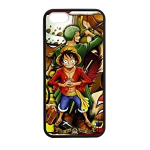 Popular Anime Manga One Piece iPhone 5/5S Best Protective Hard Durable TPU Silicone Rubber Back Cover Case XXS-8896