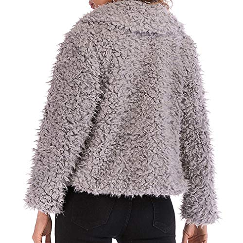 Rosa Soprabito Short Capispalla Autunno Warm Parka Hairly Coats Donna Jacket Grigio Nero Coat Fangcheng Winter qw8PFwf