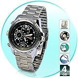 Evelyn Mini HD Steel Wrist Watch with Spy Camera (EVE-344)