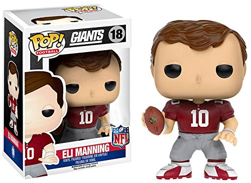 Funko Pop! Football New York Giants Eli Manning Red Uniform #18 (Toys R Us Exclusive)