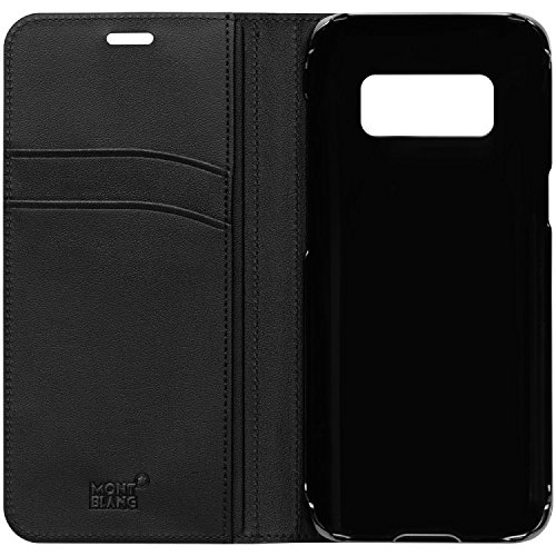 Genuine Original Official Montblanc Soft Grain Leather Flip Cover Case Meisterstuck 117758 for Samsung Galaxy S8 (SM-G950) by MONTBLANC (Image #2)