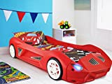 Storm Children's Racing Car Bed Mattress Working Headlights