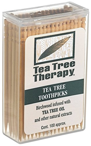 Price comparison product image Tea Tree Therapy, Toothpicks, 100 ct