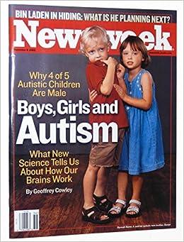 newsweek magazine september 8 2003 boys girls and autism sally mann