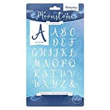 Hunkydory Moonstone Dies- Personally Yours Script Alphabet MSTONE074