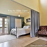 RoomDividersNow Ceiling Track Set - Medium, For