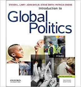 Book [ { INTRODUCTION TO GLOBAL POLITICS } ] by Lamy, Steven (AUTHOR) Jul-31-2012 [ ]