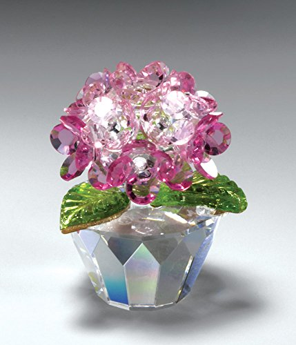 CRYSTAL WORLD Pink Hydrangea