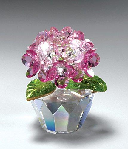"CRYSTAL WORLD ""Pink Hydrangea"""