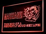 Marriage The End Of Perfectly Good Sex Life Led Light Sign