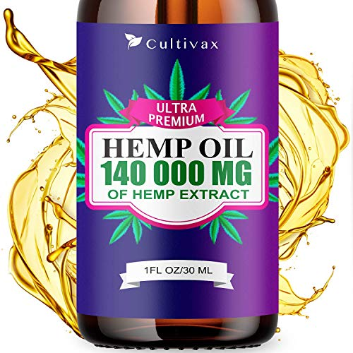 Hemp Oil 140 000mg for Pain Relief, Relaxation, Better Sleep, All Natural, Pure Extract, Vegan Friendly best to buy