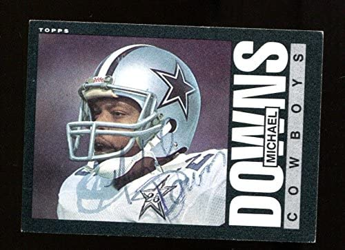 4bc7819d358 Michael Downs Signed 1985 Topps #41 Autographed Cowboys 27192 at ...