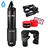 MaxxMMA 5' Water/Air Punching bag Kit (Adjustable weight 70-140 Pounds) LIMITED TIME OFFER!