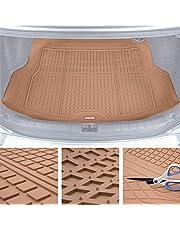 Motor Trend Premium FlexTough All-Protection Cargo Mat Liner – w/Traction Grips & Fresh Design