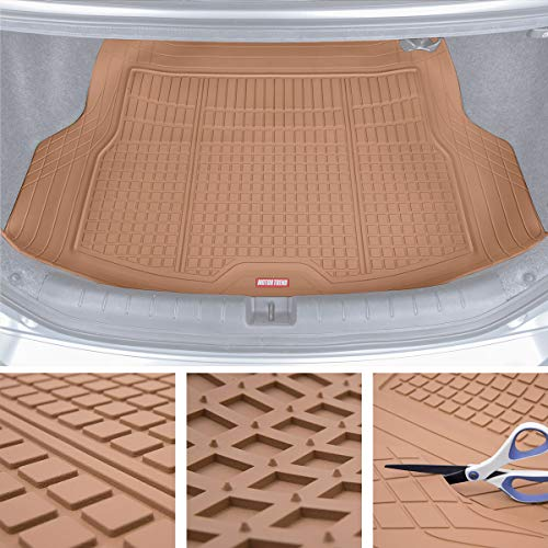 Motor Trend Premium FlexTough All-Protection Cargo Mat Liner - w/Traction Grips & Fresh ()