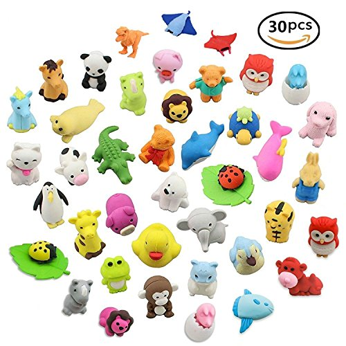 3D Animal Erasers - 6