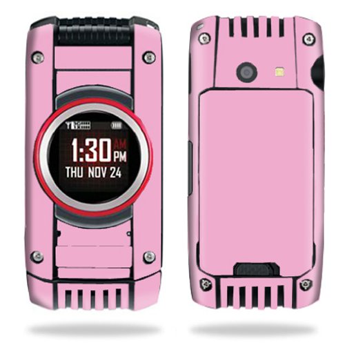 MightySkins Protective Vinyl Skin Decal Cover for Casio G'zOne Ravine 2 C781 B GzOne Verizon Android Cell Phone Sticker Skin - Glossy Pink
