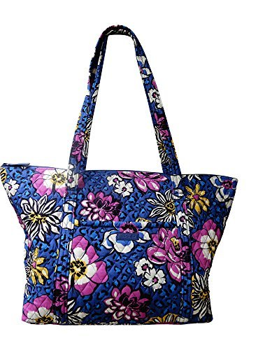 Quilted Zippered Fashion Tote - 9