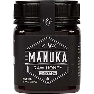 Kiva Certified UMF 15+ Raw Manuka Honey (8.8 oz)