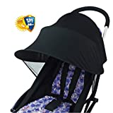 Sun Shade for Strollers WZTO Baby Car Seat Sun Shade Cover Soft, Breathable, Baby Stroller Canopy Air-Permeable and Universal Fit Strollers