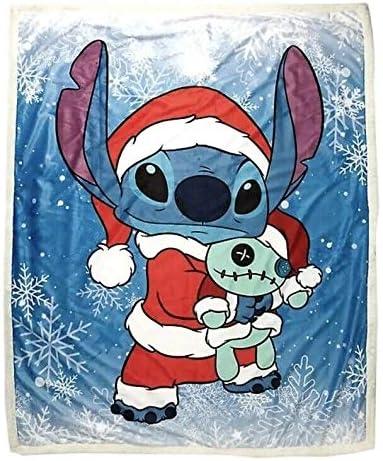Lilo & Stitch Disney Scrump Santa Disfraces de Navidad Sherpa ...
