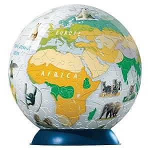 Ravensburger 11040 National Geographic Zone Di Vegetazione Della Terra Puzzle Da 240 Pezzi Ball