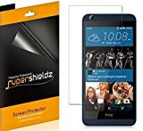 [6-Pack] Supershieldz- Anti-Bubble High Definition Clear Screen Protector for HTC Desire 626s 626 + Lifetime Replacements Warranty - Retail Packaging