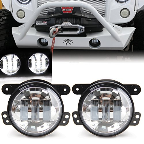 4 inch chrome driving lights - 1