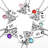 Best Necklaces 6 Pieces - Top Plaza Womens Silver Tone Rhinestone Best Friends Review