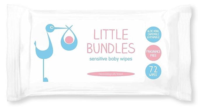 Little Bundles - Toallitas húmedas - 12 x 72 toallitas