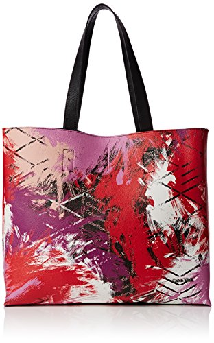Calvin Klein Stacy Shopper, Borse Donna Paris Pink/Black