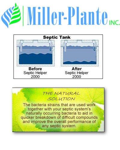 Miller Plante sépticos Helper 2000 + | 24 tratamientos ...