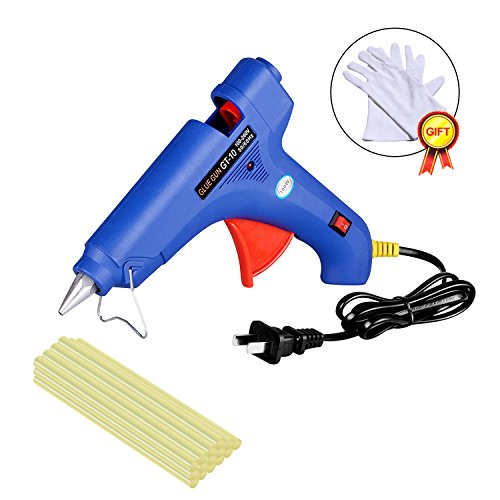 Hot Melt 100W Glue Gun PDR Tools Heats up Quickly with 15 Pcs Strong Viscosity Glue Sticks for Car Body Dent Repair Electronics Circuit Panel Stick Toy Model Artificial Flower DIY Project etc. by FLY5D