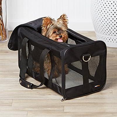 AmazonBasics Soft-Sided Pet Travel Carrier