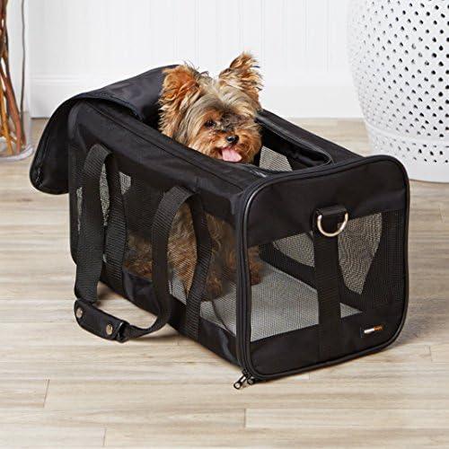Transportín de viaje de malla suave para mascotas 9