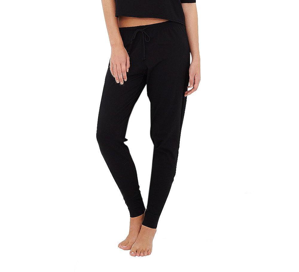 A Gift From The Gods Black Loungewear Bottoms | Women's Nightwear