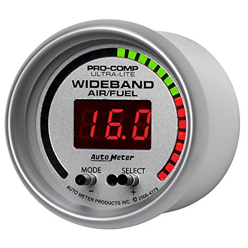 Auto Meter 4378 Ultra-Lite Digital Wideband Air and Fuel Ratio ()