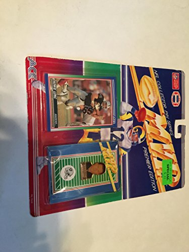 HOWIE LONG OAKLAND RAIDERS TRADING PIN AND CARD SET