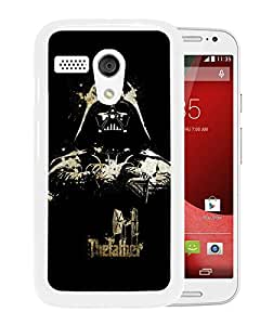 Beautiful Designed Case With The God Father Darth Vader White For Motorola Moto G Phone Case