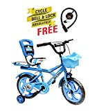 Speed Bird Robust 14-T - Baby Cycle For Boys & Girls - Age Group 3-6 Years (Color Blue)