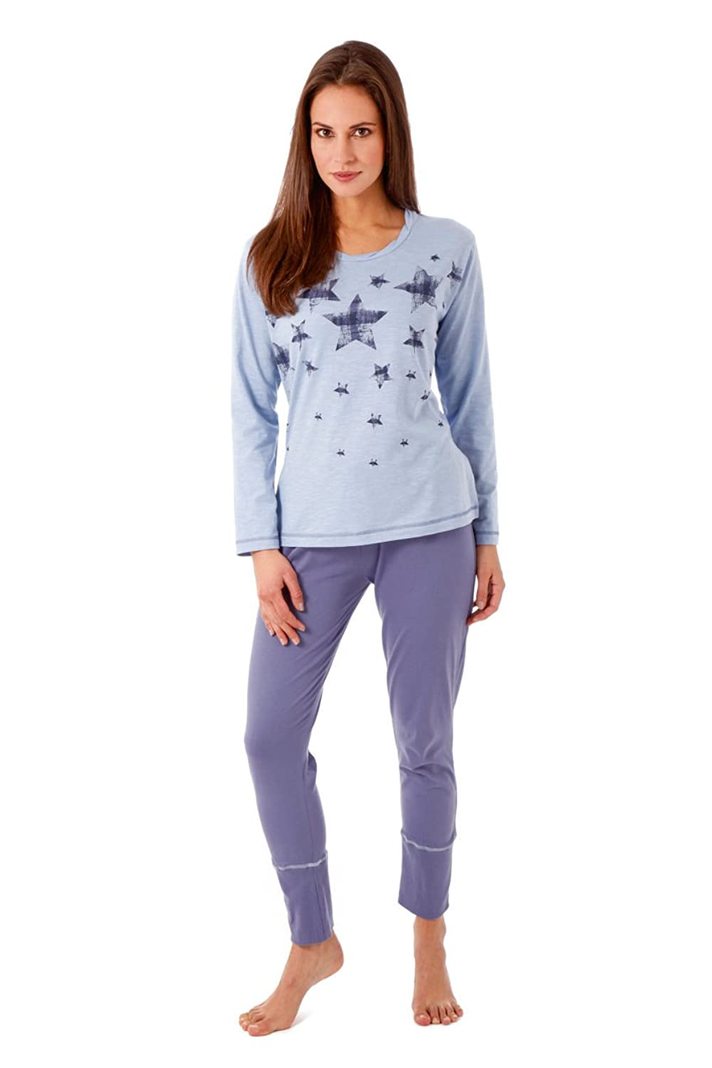 hajo Women Pyjamas Set Premium Cotton?-?Light Blue