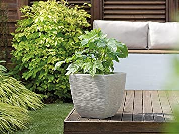 Stewart Cotswold Planter Limestone Grey 239268 Amazon Co Uk
