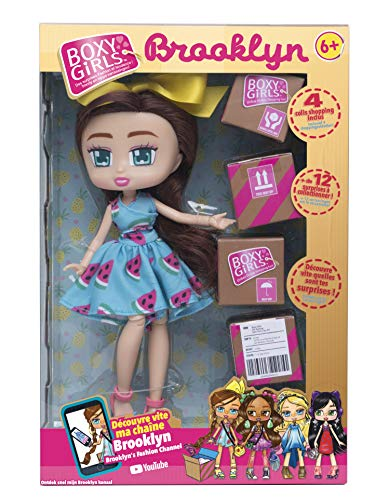 BOXY GIRLS Brooklyn - Muñecas Fashionista Que Van a Hacer Hablar de Ellas - Vista en la televisión.