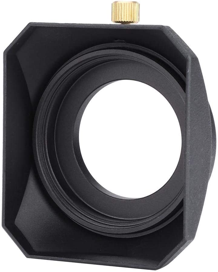 Simlug Lens Hood,Camera Lens Shade Camera Lens Shade,Accessory for DV Camcorder Digital Video Camera Lens Filter 39mm