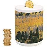 Best Baby Aspen Friend Ideas - Fall,Ceramic Child Bank,Printed Ceramic Coin Bank Money Box Review