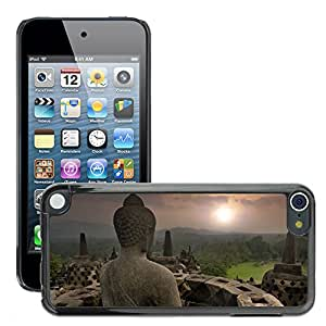 Print Motif Coque de protection Case Cover // V00001701 templo del Buda brumosa // Apple ipod Touch 5 5G 5th 6 6G 6th