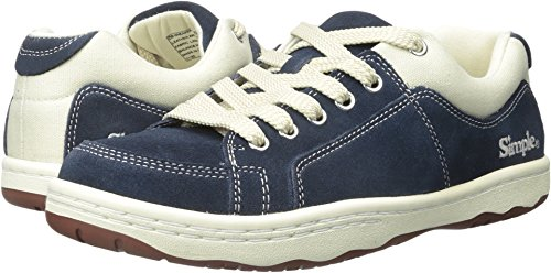 Simple Men's OS91-1 Fashion Sneaker, Navy Suede, 8.5 M (Simple Suede Sneakers)