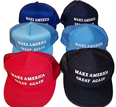 MAGA MAKE AMERICA GREAT AGAIN VINTAGE TRUCKER MESH HAT baseball cap donald trump
