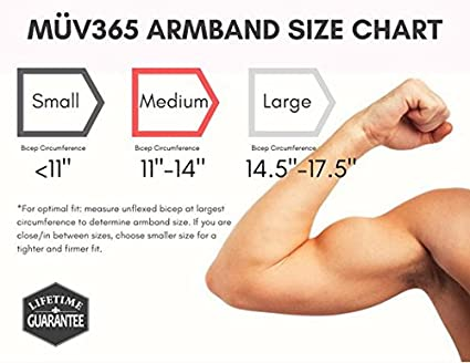 Samsung Galaxy S8//S7 and All Phones with Case Up to 7 for Women and Men Black Fits iPhone 8//7//7 Plus//6//6s M/ÜV365 Ultimate Comfort Workout Armband Phone Holder for Running